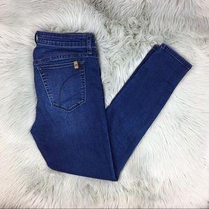 Joe's Jeans Icon Ankle Mid-Rise Dark Skinny Jeans